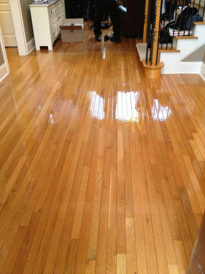 Alamo Heights hardwood floor resurfacing