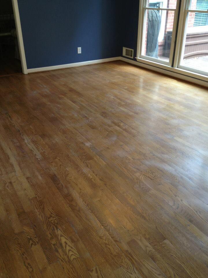 a floor that qualifies for our hardwood floor resurfacing service