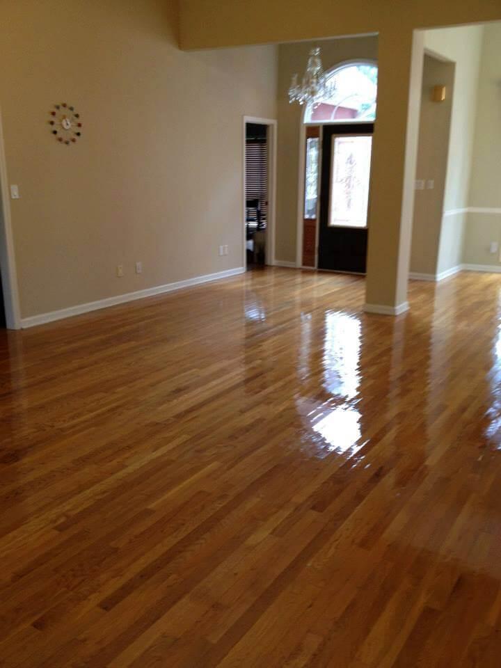 Hardwood floor maintenance in San Antonio